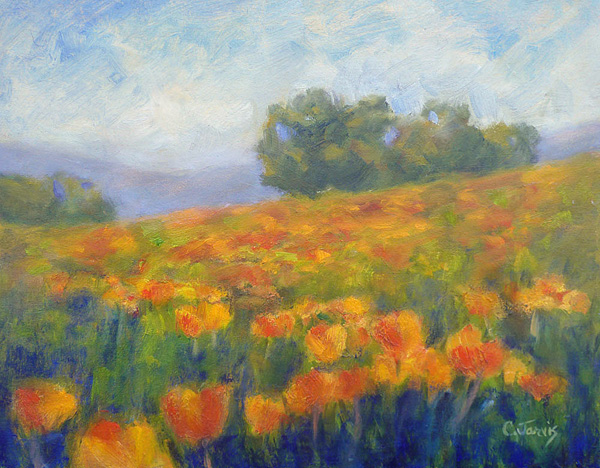 Carolyn-Jarvis-Mt-Diablo-Poppies-(W)