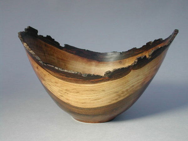 Walnut Natural Edge Bowl