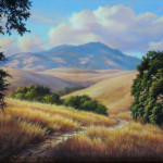 Diablo Trails, acrylic by Gary Bergren