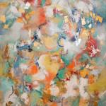 Fiesta, acrylic by Lu Beury