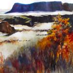 sue Johnston - Guarding the Dalles