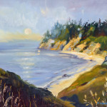 Moonrise Over Mendocino  &nbspB87 &nbsp