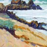 Carmel Surf by Norman Nicholson