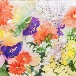 Spring &nbspwatercolor by Nancy Meaden