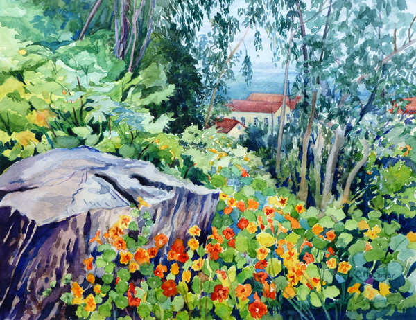 mccargar-nasturtiums-overlooking-fort-point-w