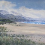 Limantour Beach, Point Reyes, 20 X 26  oil by Dean Holland