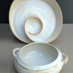 Sierra Gold serving pieces by Nancy Meaden